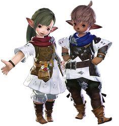 Final Fantasy XIV: A Realm Reborn | Lalafell Plainsfolk