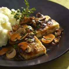 Tofu Cutlets Marsala Recipe - turned out great!  Highly recommend this dish. - Rating: 5