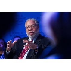 Lonnie Bunch, Director, National Museum of African American History and Culture, Smithsonian Institution, USA. speaking at the Annual Meeting 2017 of the World Economic Forum in Davos, January 18, 2017 Copyright by World Economic Forum / Greg Beadle #worl