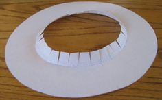How to make a hat that will fit:  Flared Top Hat Mad Hatter pt. 1 lynnmcmasters.com