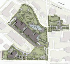 Graphisoft-Park-by-Garten-Studio-25-SITE-PLAN-COLOR—FUNCTIONS « Landscape Architecture Works | Landezine