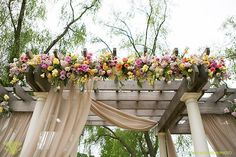 Victoria Clausen, Floral and Event Design, Baltimore/Washington DC. Wedding ceremony flowers. chuppah.