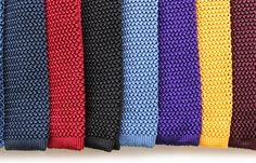 Timothy Everest Silk Knitted Ties