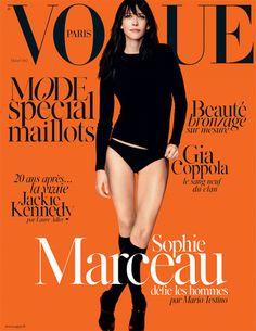 Le numéro de mai 2014 de Vogue Paris avec Sophie Marceau http://www.vogue.fr/mode/news-mode/articles/le-numero-de-mai-2014-de-vogue-paris-avec-sophie-marceau/22644