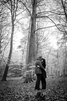 Wintry engagement shoot in Thorndon Country Park Brentwood Essex by Anesta Broad Photography