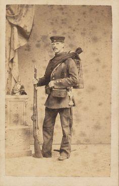 https://flic.kr/p/pEYoVz | Soldat fra 1864 7 | Ukendt dansk soldat fra 1864…
