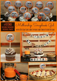 @rinagonzales & @designcakesandcupcakes team up for an OITNB blog & dessert party!! @sussleorg