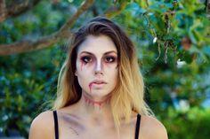 Zombie makeup dead bride corpse fantasy Halloween death