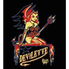 she devils are so cool, no?