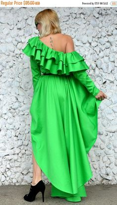 YELLOW SALE 25% OFF Extravagant Green Emerald Cotton Dress https://www.etsy.com/listing/521030773/yellow-sale-25-off-extravagant-green?utm_campaign=crowdfire&utm_content=crowdfire&utm_medium=social&utm_source=pinterest