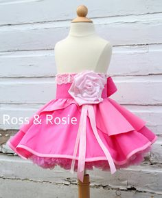 Sleeping Beauty inspired Dress Up Costume by rossandrosiedesigns, $72.00