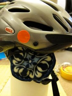 45a45142f893 Easy Ear Warmers for Bicycle Helmet