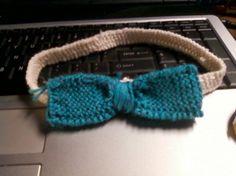 Knitted Headband.