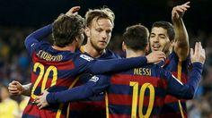 La Liga: Barcelona gana con cuatro goles de Luis Suárez