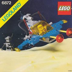 These handy Lego Space instructions are here to help you with building your LEGO sets. LEGO are childrens toys and are great if you can pick them up in a toy sale! Lego Kits, Vintage Lego, Best Lego Sets Ever, Gi Joe, Instructions Lego, Classic Lego, Classic Toys, Lego Space Sets, Big Lego