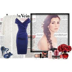 Blue, created by sandy-thompson on Polyvore