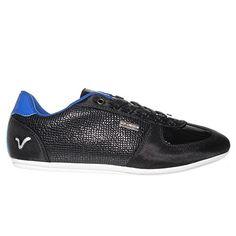 VOI JEANS Murano Tier Herrenmode Trainer-Schuh - schwarz / blau - http://on-line-kaufen.de/voi-jeans/voi-jeans-murano-tier-herrenmode-trainer-schuh