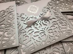 Wedding Invitation Samples, Elegant Wedding Invitations, Invitation Cards, Shadi Card, Wedding Cards Handmade, Wedding Silhouette, Wedding Envelopes, Wedding Card Design, Wedding Anniversary