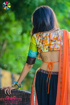 See the beauty in colors ♥ MoonlightAndYou#1 Navratri Collection By Nikita Bhatt…