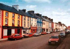 Lovely Kiltimagh in Co. Mayo, Ireland.
