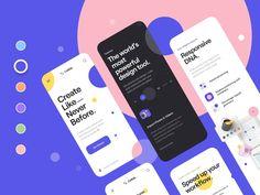 Ui Design Mobile, App Ui Design, Interface Design, Tool Design, Best App Design, Quiz Design, Ui Kit, Mobile Ui Patterns, Minimal Web Design