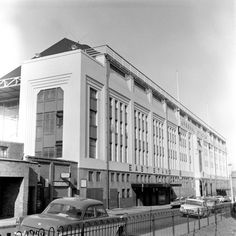 The wonderful East Stand facade again in all its glory (1967)
