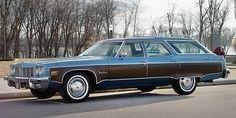 Almost Showroom: 1975 Oldsmobile Custom Cruiser - http://barnfinds.com/almost-showroom-1975-oldsmobile-custom-cruiser/