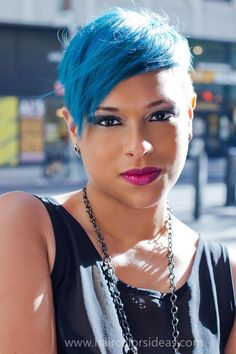 http://www.biancaalexis.com: I mixed my own.  I use Adore Indigo Blue and mix it with Special Effects Toner.