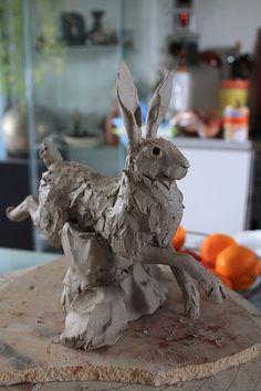 running hare clay | Flickr - Photo Sharing!