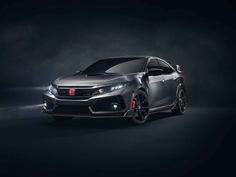 Honda took to the Paris Motor Show this week to debut this visually striking Civic Type R Prototype, offering a preview of what the 2018 Civic Type R will look like when it makes its North American debut at SEMA in November. Sporting a six-speed manual transmission, the prototype features carbon fiber side skirts, 20-inch piano black alloy wheels, dual center exhaust and a massive rear spoiler. Specs and pricing have yet to be announced, but word on the street is that the fron...
