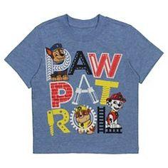 Toddler Boys' Paw Patrol Tee Shirt - Heather Blue