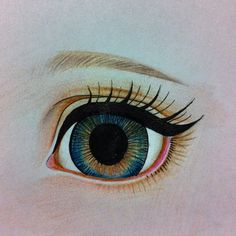 "24 Likes, 2 Comments - bunnybear(곰토끼) (@bunnybeardolls) on Instagram: ""Study (repainting dolls) #eye"""