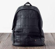 Hot Unisex Vintage Pu Backpack Satchel Shoulder Bag Punk Sport Campus Travel