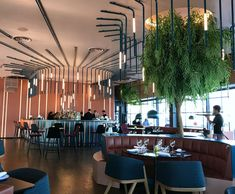 Design Tourist: Ling Ling Restaurant Oslo A design led inter – Designs Ideas Italian Interior Design, Restaurant Interior Design, Pub Decor, Hotel Decor, Modern Restaurant, Cafe Restaurant, Cafe Bar, Law Office Design, Office Designs