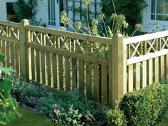 The fence serves also as a decorative element that makes ready the full look of the garden and the House. Description from 1decor.net. I searched for this on bing.com/images
