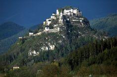 Hochosterwitz Castle, Austria http://en.wikipedia.org/wiki/Hochosterwitz_Castle