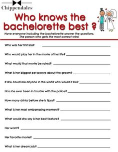 pin up girl bachelorette party games