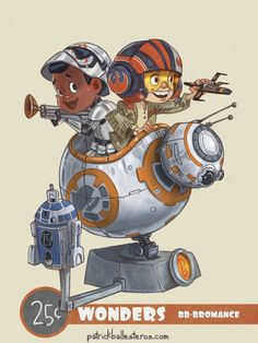 I've got an amazing new collection of geek culture art her for you to enjoy…
