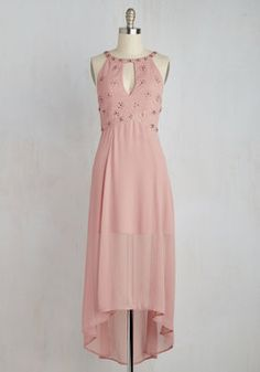 Daybreak Diva Dress. As the sun begins to rise, you awake to discover that the time to debut this rich rose pink dress has finally arrived. #pink #modcloth