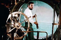 James Mason as Captain Nemo in Richard Fleischer's 1954 film 20,000 Leagues Under the Sea