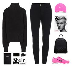 """""""// s h e I n : 2 //"""" by theonlynewgirl ❤ liked on Polyvore featuring NIKE, Justin Bieber, Nike Golf, Sloane Stationery, Victoria Beckham, Urbanears, women's clothing, women's fashion, women and female"""