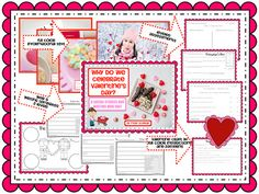 Valentine Themed Social Studies and Writing Integrated Unit