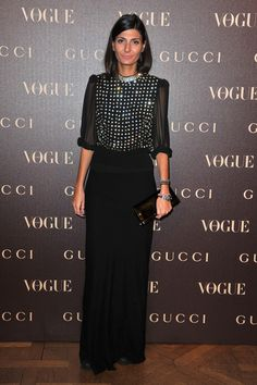Giovanna Battaglia Photo - Gucci Dinner At Italian Embassy - Photocall - PFW Haute Couture S/S 2011