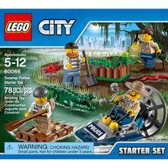 Lego City Police Swamp Police Starter Set, Multicolor