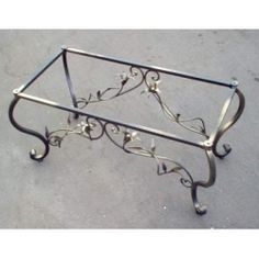 Tavolo Tavolino in FERRO BATTUTO . Realizzazioni Personalizzate . 648