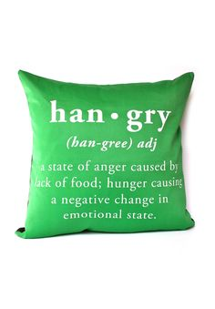 This is definitely me!  Could also use the term 'cranker', cranky/hunger.