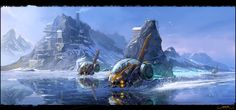 Sci-fi Landscapes Related Keywords & Suggestions - Sci-fi ...