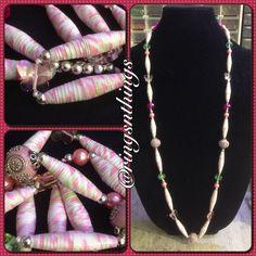 #jewelry #jewelrydesign #diy #beads #swag #bracelets #paperbeads