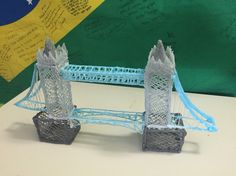 Tower Bridge 3d draw. Time to do: 5-6 hours. Level: expert.