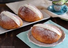 Buns with cream - Maritozzi con la panna, ricetta di Luca Montersino